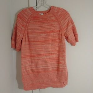 GAP Orange sweater blouse
